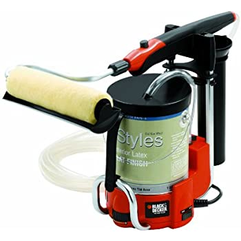 black decker c800659 pro electric power paint roller. Black Bedroom Furniture Sets. Home Design Ideas