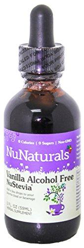 NuNaturals Nustevia Alcohol Free Liquid Vanilla Stevia - Stevia Sweetener
