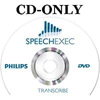 Philips SpeechExec Transcribe Standard Transcription Software [CD-ROM]