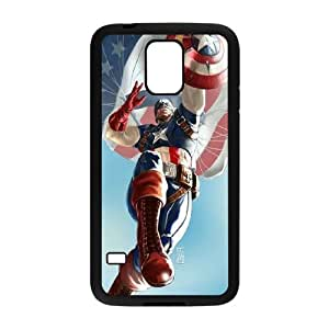 I-Cu-Le Customized Print Captain America Hard Skin Case For Samsung Galaxy S5 I9600