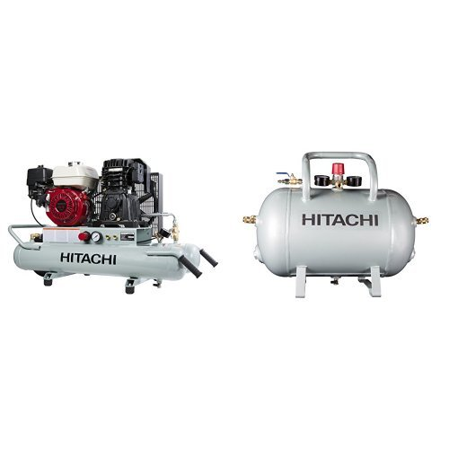 Hitachi EC2610E 8 Gallon Compressor with 10 Gallon Reserve Air Tank