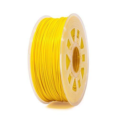Filamento ABS Gizmo Dorks de 3 mm (2,85 mm) 1 kg / 2,2 lb para impresoras 3D, amarillo