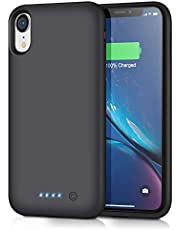 iPosible Battery Case for iPhone XR, [6800mAh] Charging Case Extended Battery for XR Rechargeable Battery Power Bank Portable Charger Case [6.1 inch]【Newest Version】