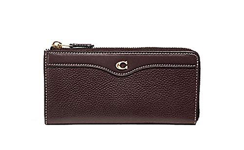 Coach Leather L Zip Wallet Clutch - #F39310