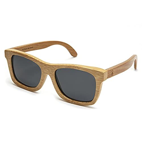 bamboo wood sunglasses with polarized lenses and handmade frames wayfarer natural style for men and women - Cartier Frames For Men