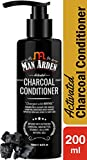 Man Arden Activated Charcoal Cream Conditioner with Argan Oil - 200ml - Deep Conditioner for Damaged & Dry Hair, Nourishes Scalp, Removes Residue Buildup