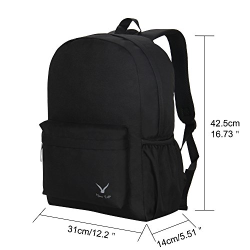 Hynes Eagle Basic School Backpack Book Bag Lightweight Small Backpack for Boys  Girls 3599a87738