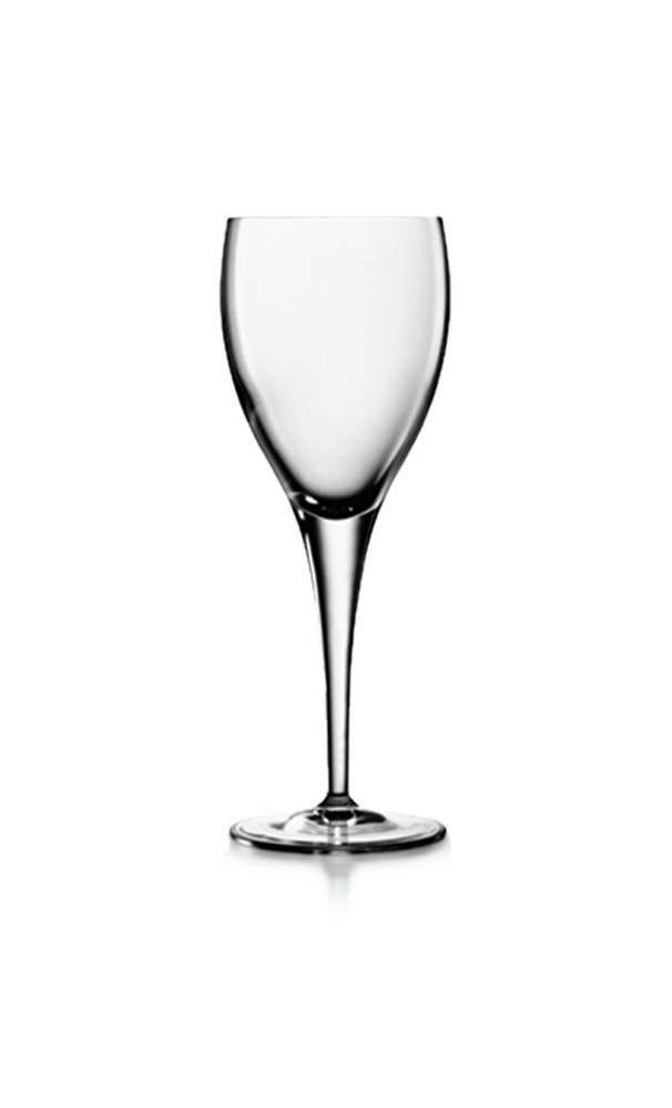 Luigi Bormioli Set of 4 Michelangelo Mastrepiece Wine Glasses, 8-Oz.
