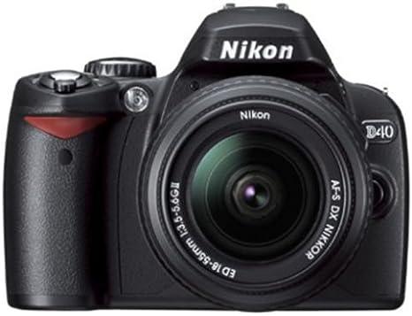 Nikon D40 Slr Digitalkamera Double Zoom Kit Schwarz Kamera
