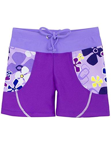 Tuga Girls Swim Short (UPF 50+), Playtime, 4/5 yrs