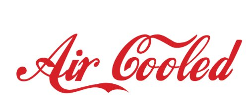 air cooled decal - 1