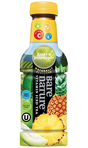 Bare Nature VITAMIN ICED TEA - Guava Pineapple (12 ct, 20 fl oz)