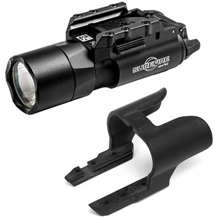 SureFire X300 Ultra Weapon Light, Univ/Pictny Rail Mount, Black X300U-A W/ Unity X300U-A-KIT1 by SureFire
