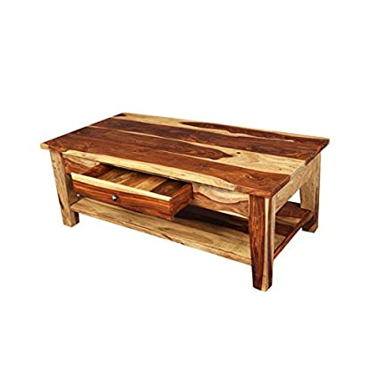 Amazoncom Coffee Table With Storage Drawer India By Porter