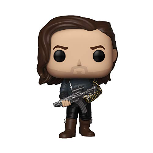 Pop! Avengers Infinity War - Figura de Vinilo Bucky Barnes with Weapon