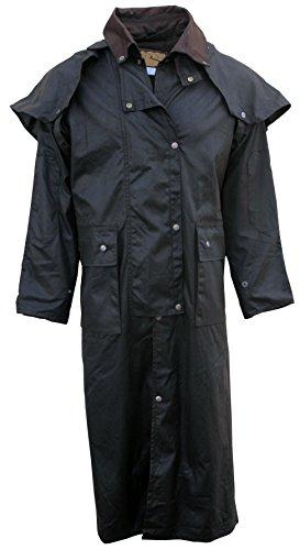 Oilskin Lightweight - Fox Fire Mens Oilskin Oilcloth Waterproof Outback Trail Australian Duster Coat