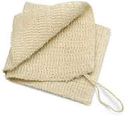 Baudelaire Sisal Wash Cloth, 1 COUNT (Pack of 2)