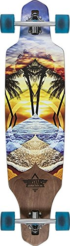Dusters California Skateboards Wake Element Longboard Complete Skateboard - 9.37'' x 38'' by Duster