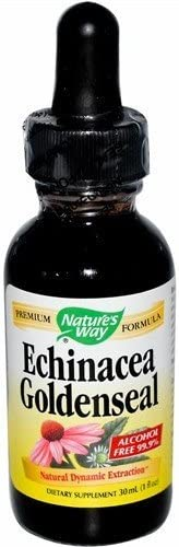 Nature s Way – Echinacea-Goldenseal, 1 Oz 4 Pack