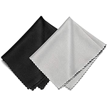 Tablets AISSWZBER Microfiber Cleaning Cloths for Sunglasses,Glasses Screens Phones,Cameras LCD TV Screens and More 6 Pack- 6x7