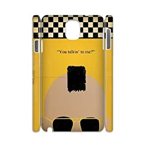 Personalized 3D Samsung Galaxy Note 3 N9000 Case, Taxi Driver quote DIY Phone Case