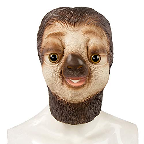 Masks Halloween Christmas Crazy Animal City Sloth Headgear