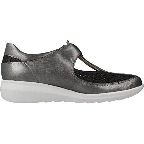 Pinosos Modelo Mujer De Marrón Mujer Marrón Plateado Zapatos Pinosos Color Para G Cordones 7596 Marca lam w0Hq8