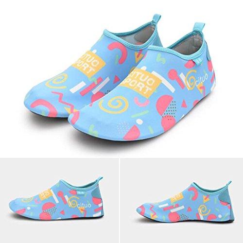 Lados Aguas Parte Playa Zapatos Anti De De Esnórquel De Rápido De Suela Cuatro TPR Zapatos Playa Adulto De Natación Zapatos De Superior Antideslizante Arriba 2 Elástica Modelos Zapatos ara Pareja Secado 6vUXww