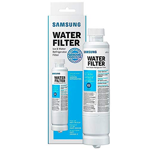Samsung DA29-00020B New Model HAF-CIN/EXP Refrigerator Water Filter (Refrigerator With Ice And Water In The Door)
