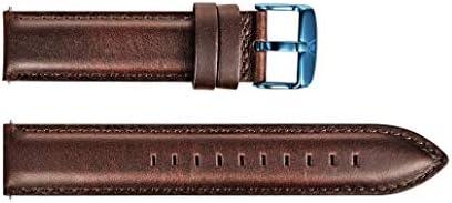 【WellyMerck 】メンズ 腕時計用 ベルト (20MM, LonDon-R-1)