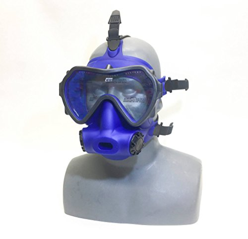 OTS Spectrum Full Face Mask, Blue Clear - Mask Ub Face