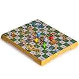 Yellow Mountain Imports Magnetic Snakes and Ladders Set, Medium Size
