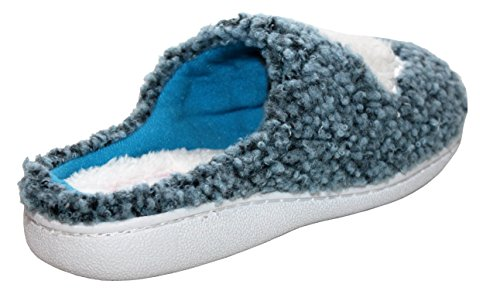 Faux Slip Christmas Blue Fur Shoes A Mules Warm Womens Sheep On 8 Girls Ladies UK Winter Lined Lightweight Festive Cosy amp;H Slippers 3 Footwear Sizes amp; Rabbit OfqOwzv