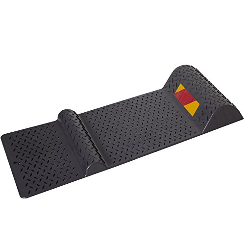 Garage Parking Mat (Parking Stop Mat Guide for Garage Auto Park Assist with Safety Reflector Aid)