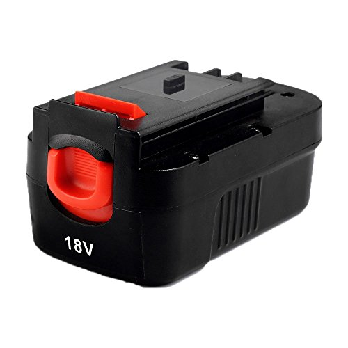 Masione 2000mah NI-CD Battery for Black & Decker 18volt Power tools HPB18 HPB18-OPE 244760-00 A1718 A18 fits Firestorm A18 FS180BX FS18BX FS18FL FSB18 NST2018 NST1810 NHT518 NS118 NPP2018 NPT3118