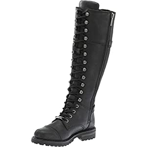 Harley-Davidson Women's Beechwood Work Boot, Black, 11 M US
