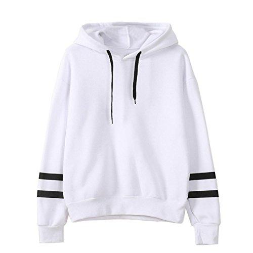 kaifongfu sales, Womens Long Sleeve Hooded Sweatshirt Jumper