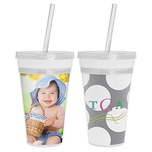 Design Your Own Acrylic Tumbler w/Straw]()