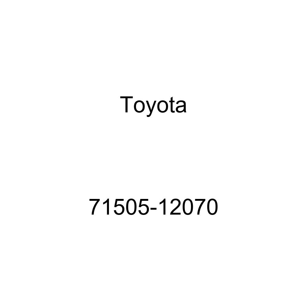 TOYOTA Genuine 71505-12070 Seat Back Pad Sub Assembly