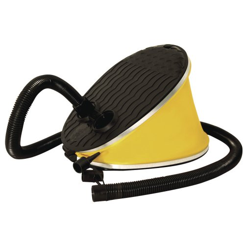 Kwik Tek Airhead Ahp-f1 Bellow Foot Pump Athletics, Exercise, Workout, Sport, Inflatables by Kwik Tek