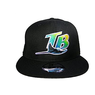 Tampa Bay Rays New Era 9Fifty Black Cap