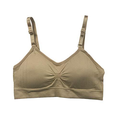 Undie Couture Joy Bra Scoopneck Seamless Bra (Nude, One Size)