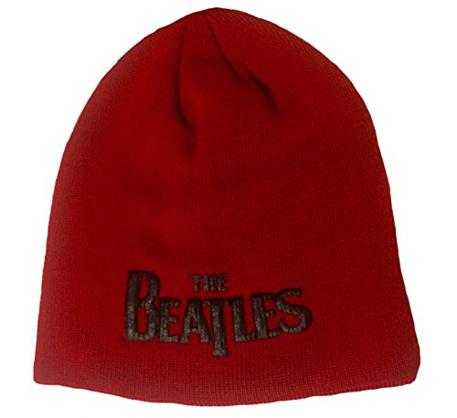 The Beatles Beanie Logo red