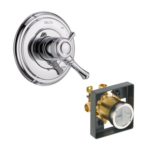 Cassidy Valve Only Kit Pressure-Balance Dual-Function Cartridge, Chrome Chrome - Delta KVODCA-T17097-CH