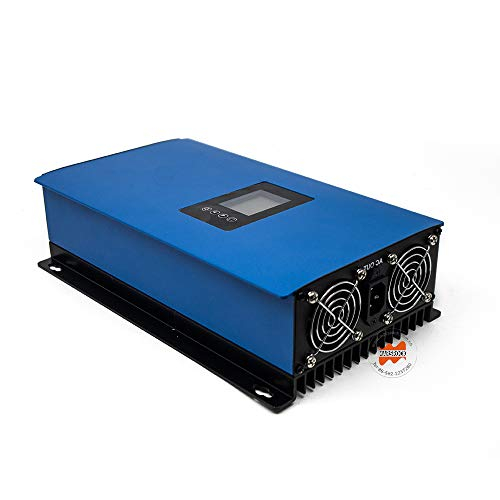 Marsrock 2000W Grid Tie Inverter Power Limiter Wide Voltage DC 45-90V for Wind Turbine Input AC110V/220V Auto Switch (2000 AC48V)