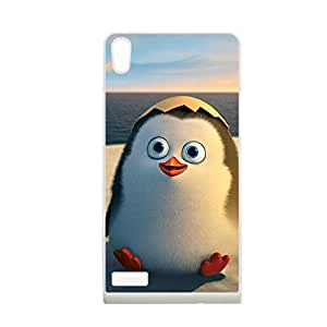Generic Clear Back Phone Case For Teen Girls With Penguins Of Madagascar For Huawei P6 Choose Design 1