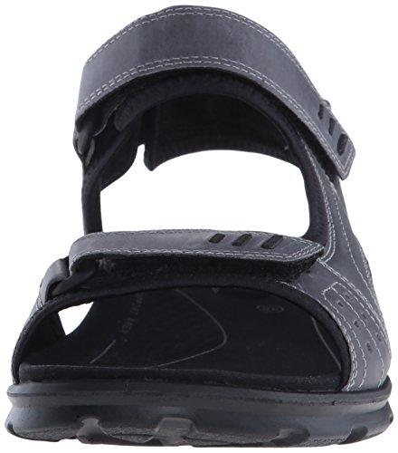 Ecco Menns Utah Sport Sandal Titamium