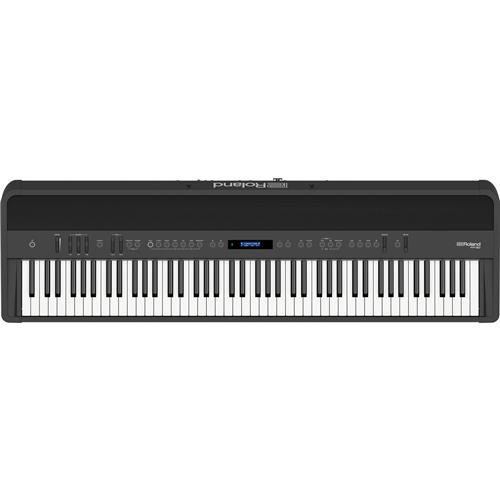 Roland FP-90 88 Keys SuperNATURAL Modeling Portable Digital Piano, Black