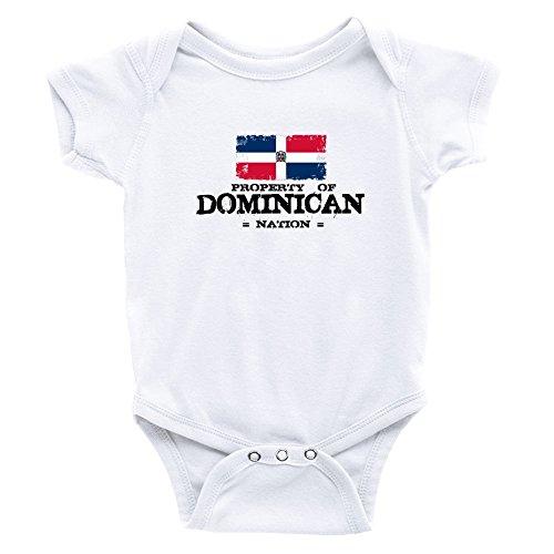 Teeburon Property Of Dominican Republic Nation Baby Bodysuit