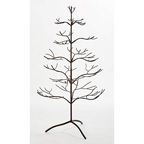 Tripar International, Inc. Metal Mahogany 36-inch Ornament Tree (Display Ornament Stand Tree)